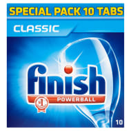 Finish Classic Dishwasher Tablets 10pk 186g