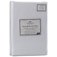 Supersoft Brushed Cotton Fitted Sheet King