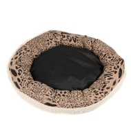 Deluxe Faux Fur Dog Bed
