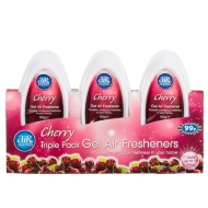 AirScents Gel Air Freshener - Cherry 3pk