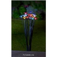18pc Acrylic Flower Stake Set