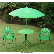 4pc Frog Patio Set