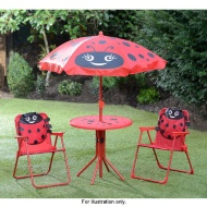 4pc Ladybird Patio Set