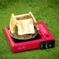Compact Camping Toaster Rack