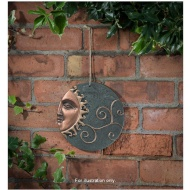 Ceramic Sun Wall Plaque