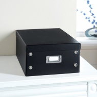 Plain Paper Storage Box Medium - Black