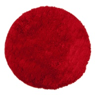 Round Fun Rug 60 x 60cm - Red