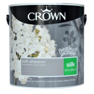 Crown 2.5L Soft Shadow Silk Emulsion Paint