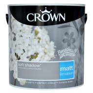 Crown 2.5L Soft Shadow Matt Emulsion Paint