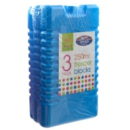 3 pack 250ml Freezer Blocks