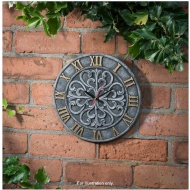 Decorative Ceramic Outdoor Clock