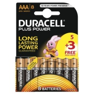Duracell 5+3 Free Plus Power AAA Batteries