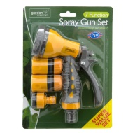 7 Dial Spray Gun With Fitting Set