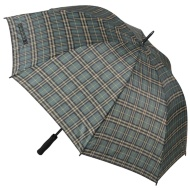 Golf Umbrella - Green Tartan