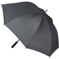 Golf Umbrella - Black Pin Stripes