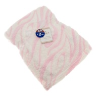 Baby Patterned Microfibre Blanket