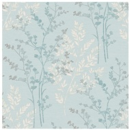Arthouse Imagine Fern Teal Motif Vinyl Wallpaper