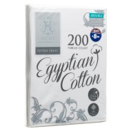 Egyptian Cotton Fitted Sheet - Double