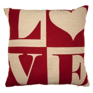 Betsy Luxury Cushion Cover - Love
