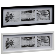 New York 3 Aperture Photo Frame