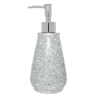 Mosaic Soap Dispenser - Silver