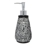 Crackle Soap Dispenser - Black