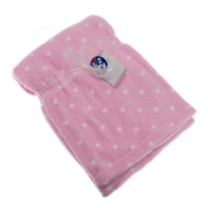 Baby Heart Fleece Blanket