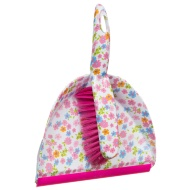 Printed Dustpan & Brush - Floral