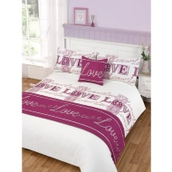 Love Bed in a Bag King Duvet Set