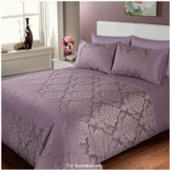 Elizabeth Jacquard Damask Duvet Set King