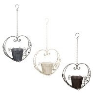 Heart Shaped Hanging Planter