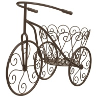Vintage Tricycle Planter - Bronze
