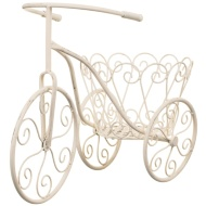 Vintage Tricycle Planter - Cream