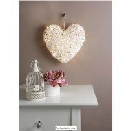 20 LED Light Up Heart