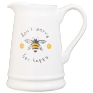 Ceramic Jug - Don't Worry Bee Happy