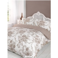Evie Floral Printed Double Duvet Set