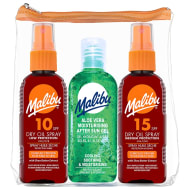 Malibu Travel Bag with Sunscreen 3pk