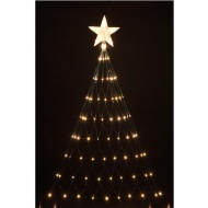160 LED Tree Net Christmas Light with Star