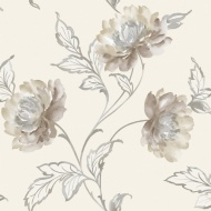 Arthouse Imagine Bronte Neutral Motif Vinyl Wallpaper