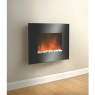 Home Comforts Naples Flame Effect Wall Fire