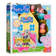 Peppa Pig's Playhouse with Mat