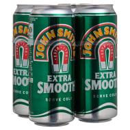 John Smith's Extra Smooth Bitter 4 x 440ml Can