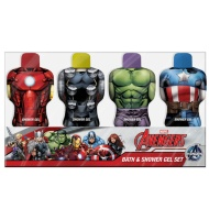 Avengers Bath & Shower Gel Travel Set 4 x 75ml