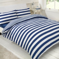 Oxford Stripe Double Complete Bed Set