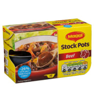Maggi 6 pack Beef Flavour Stock Pots 144g
