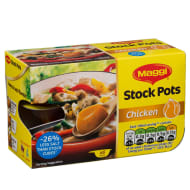 Maggi Chicken Stock Pots 6pk 144g