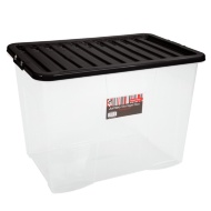 Large Storage Box with Lid 110L
