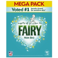 Fairy Non Bio Washing Powder 65W