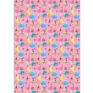 Character Wrapping Paper - Disney Princesses - 3m