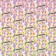 Character Wrapping Paper - Unicorn - 3m